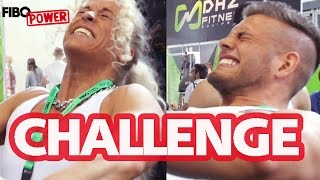 FIBO POWER CHALLENGE 2015 (Liegestütze, Dips, Riegel-Wettessen uvm)