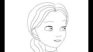 Fix-man. Fixiki. Mom How to draw a easy? (Фиксики. Мама Дим Димыча. Как нарисовать просто?)