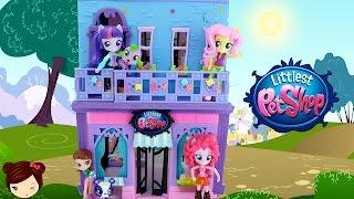 getlinkyoutube.com-LPS La Habitacion de Blythe con My Little Pony Equestria Minis - Juguetes de titi