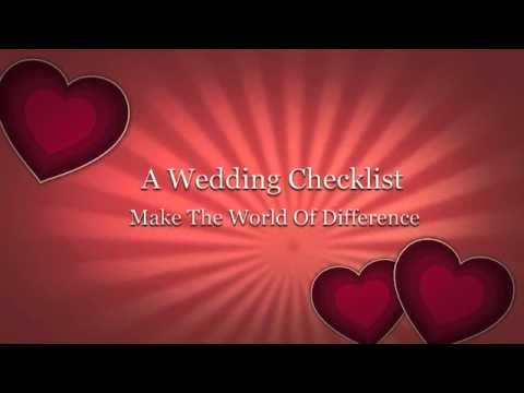Free Wedding Checklist The Easy Way To Plan A Wedding Wedding Checklist