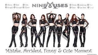 PART 120: Kpop Mistake & Accident [9MUSES / NINE MUSES only]