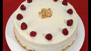 getlinkyoutube.com-Krem torta s malinama - Fini Recepti