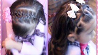 getlinkyoutube.com-Dos Peinados Faciles De Niña Para La Escuela O Eventos Especiales   MarceAlDescubierto