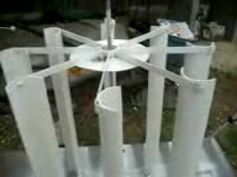 pvc vertical wind turbine see how i build this vertical wind turbine i