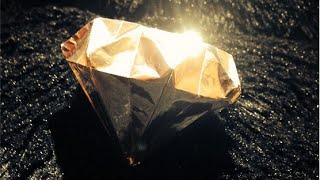 getlinkyoutube.com-Diamante de origami - 3D Diamond ダイヤモンド