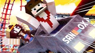 getlinkyoutube.com-초스피드 리얼롤코!! [초현실 롤러코스터 모드: 마인크래프트 모드 탐험기] Minecraft - EX Roller Coaster Mod - [도티]