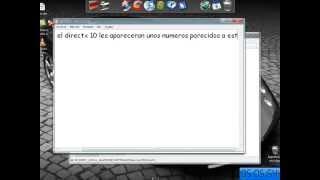 getlinkyoutube.com-como quitar directx10 y poner directx9