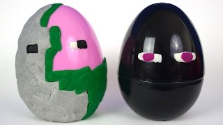 getlinkyoutube.com-Minecraft Surprise Eggs,  Surprise Blocks, Surprise Chest