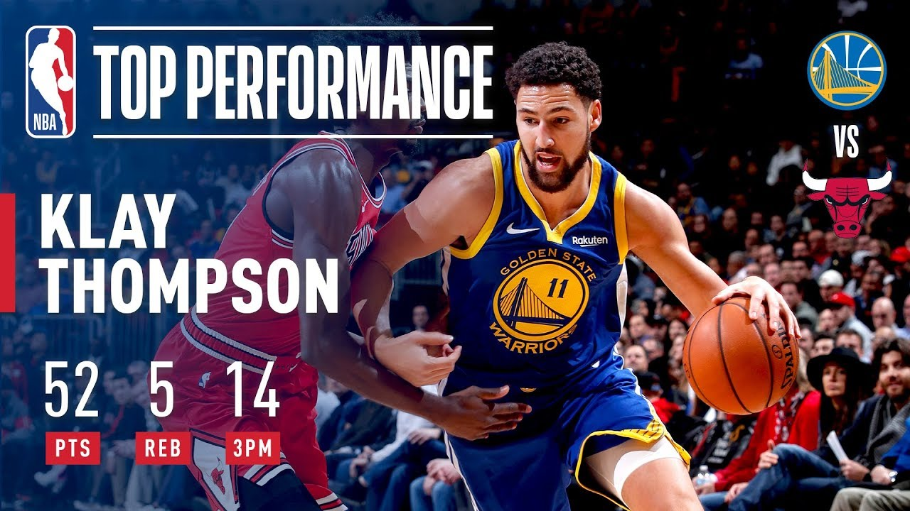 Klay Thompson - 14 Three Pointers in One Game