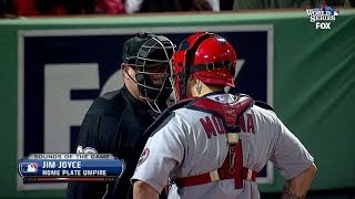 getlinkyoutube.com-Molina talks with ump about Big Papi