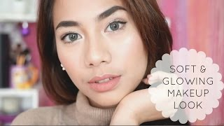 getlinkyoutube.com-Soft and Glowing Makeup Look - Abel Cantika
