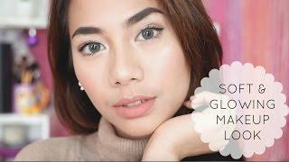 getlinkyoutube.com-Soft and Glowing Makeup Look - Abel Cantika