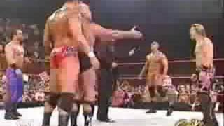 getlinkyoutube.com-Raw Locker Helps Randy Orton Attack Evolution