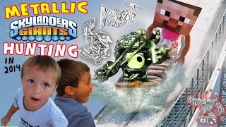 getlinkyoutube.com-METALLIC Skylanders Giants Hunting!! w/ Water Rides & Hibachi Fun! + CONTEST 4 TOYS R US Shroom Boom