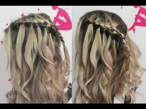 Hairstyle: Trança Francesa em Cascata por Pamella Rocha -French braid tutorial