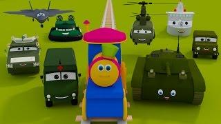 getlinkyoutube.com-Bob il Treno - Gita al campo militare