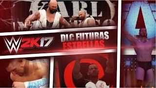getlinkyoutube.com-Nuevos luchadores!   WWE 2K17 DLC Future Stars