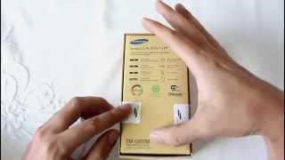 Abrindo a caixa - Galaxy S5 - Unboxing brasileiro