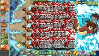 getlinkyoutube.com-Plants vs Zombies 2 - Mecha Football vs Zombot Tuskmaster 10,000 BC
