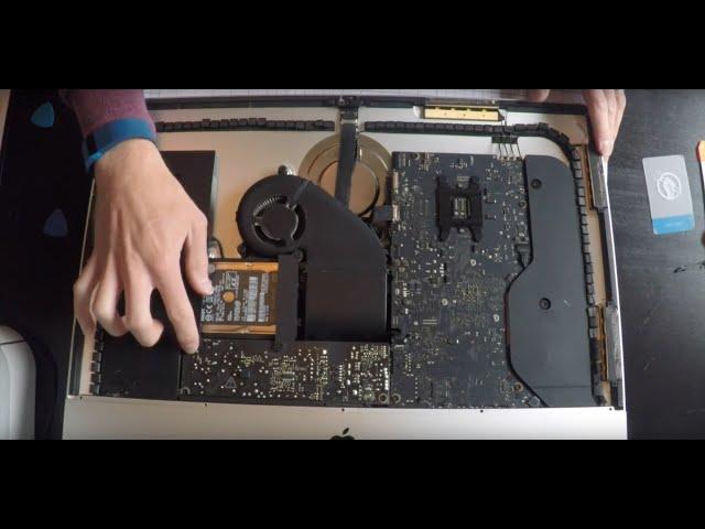 Nâng cấp SSD iMac Late 2013