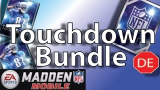 getlinkyoutube.com-Madden Mobile 16 Touchdown Bundle! Touchdown Packs Plus Elite Program Player!