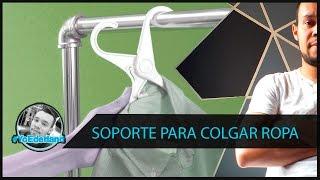 getlinkyoutube.com-Fabrica un Soporte para Colgar Ropa - #YoEderland