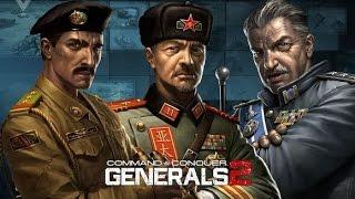 getlinkyoutube.com-C&C Generals 2 MOD for Zero Hour - Skirmish with USA [720p 60fps]