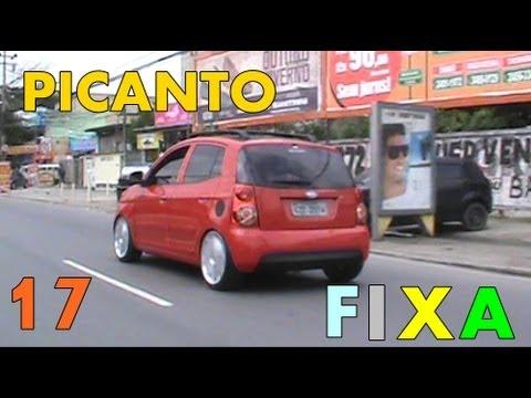 Kia Picanto Rodas 17 nv12 e Fixa TR Suspensões
