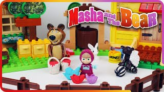 getlinkyoutube.com-♥ Masha and the Bear Compilation 2015 Маша и Медведь (The Golden Fish, Garden of Ice Cream...)