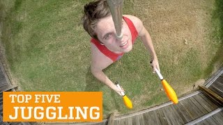 getlinkyoutube.com-TOP FIVE JUGGLING | PEOPLE ARE AWESOME