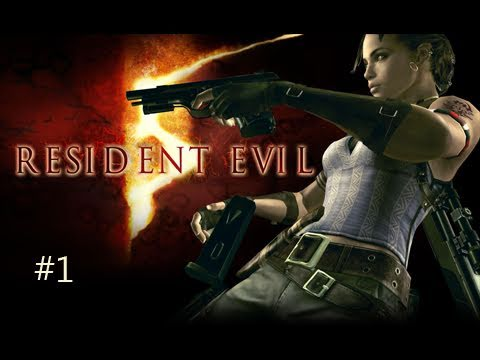Resident Evil 5 Co-Op w/ Courtney | Chapter 1-1 Part 1