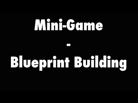 Minecraft Mini-Game: Blueprint Building