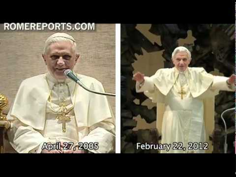 Benedict XVI becomes the sixth oldest pope in history