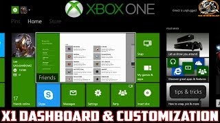 getlinkyoutube.com-Xbox One Dashboard! (Home Screen) & Personal Customization (Pins, Followers, Tracking & More!)