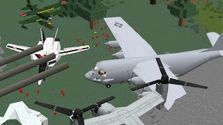 getlinkyoutube.com-Realistic Planes, Helicopters and Turrets Mod | Episode 1081 | iPodmail Minecraft Mod Review