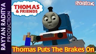 getlinkyoutube.com-Thomas Puts The Brakes On | Thomas and Friends Roblox Remake