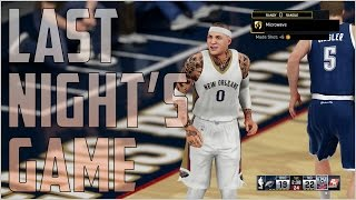 getlinkyoutube.com-NBA2K16 My Career Series Ep. 20 - Last Nights Game (Gameplay and Clippers vs Warriors Discussion)