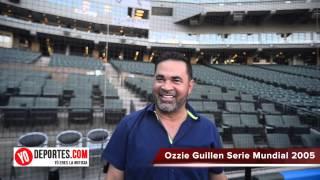 Ozzie Guillen no necesita el beisbol recuerdos de la Serie Mundial 2005