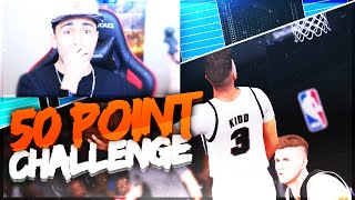 getlinkyoutube.com-50 POINT CHALLENGE IN THE RISING STARS GAME!