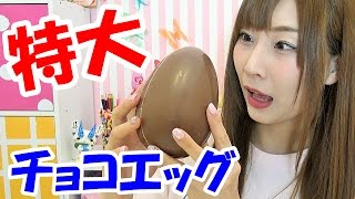getlinkyoutube.com-チョコエッグ開封♡6種類【Giant Chocolate Egg 】