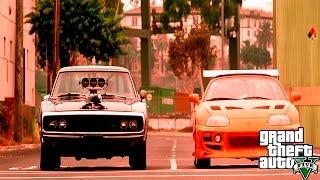 getlinkyoutube.com-Rápido y Furioso (1/4 de milla) | Grand Theft Auto 5 (GTA V)