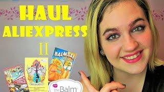 getlinkyoutube.com-HAUL ALIEXPRESS 2 | Paletas The Balm | Balm Voyage, Balm Jovi, Balmsai