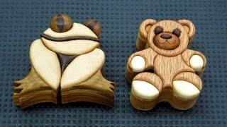 getlinkyoutube.com-Keepsake Wood Intarsia Boxes