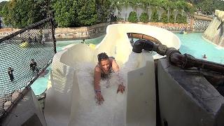 getlinkyoutube.com-White Angel Water Slide at Wet World Water Park