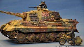 getlinkyoutube.com-King Tiger Ardennes Tamiya 1 35 OOTB Build