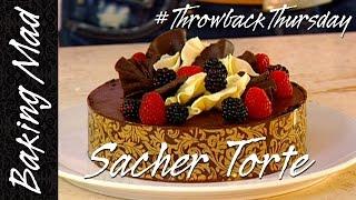 getlinkyoutube.com-Eric Lanlard's Sacher & Raspberry Torte Recipe   #TBT