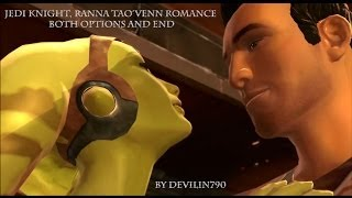 getlinkyoutube.com-SWTOR: Jedi knight, Ranna Tao'Ven Romance both options and end