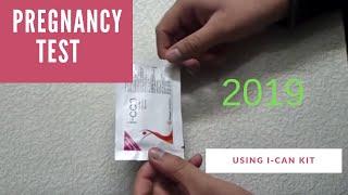 getlinkyoutube.com-Live Pregnancy Test Using i-Can Kit (Home Made) | HD| 2015