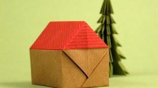 getlinkyoutube.com-Origami house :: Casita -Instructions
