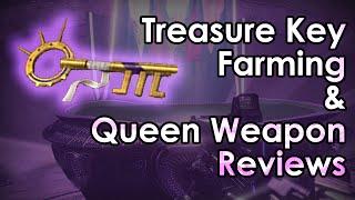 getlinkyoutube.com-Destiny: Treasure Key Farming is Dumb & The Queen's Weapons Reviewed